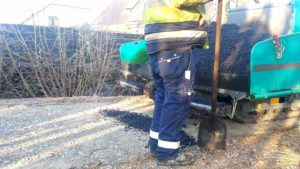 Asphalt Bau Radweg Pumptrack 21