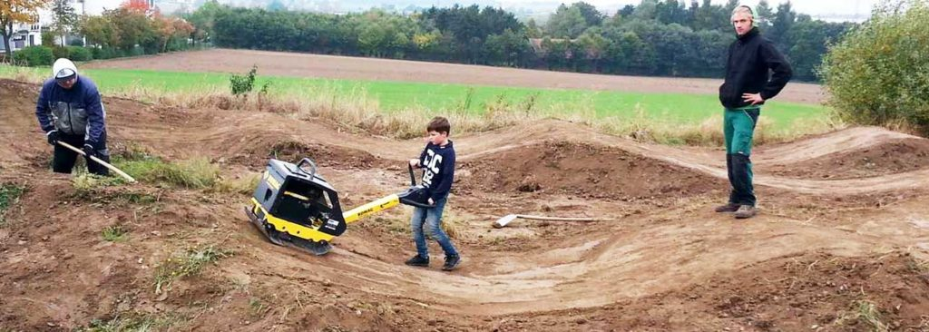 Pumptrack bauen