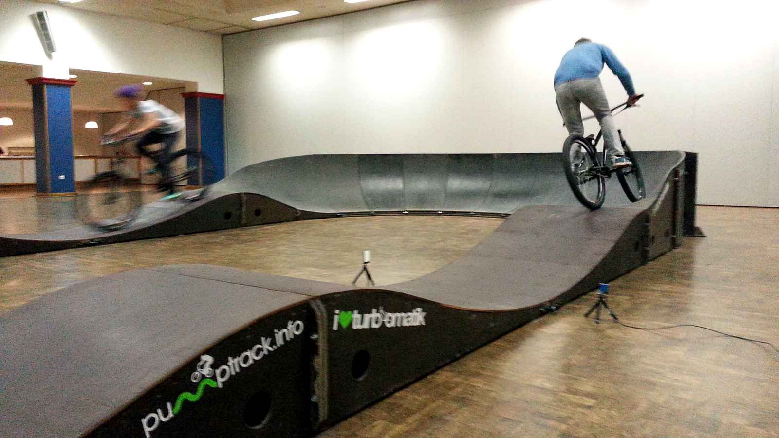 Rent A Pump Track Pump Track Construction How To Ride
